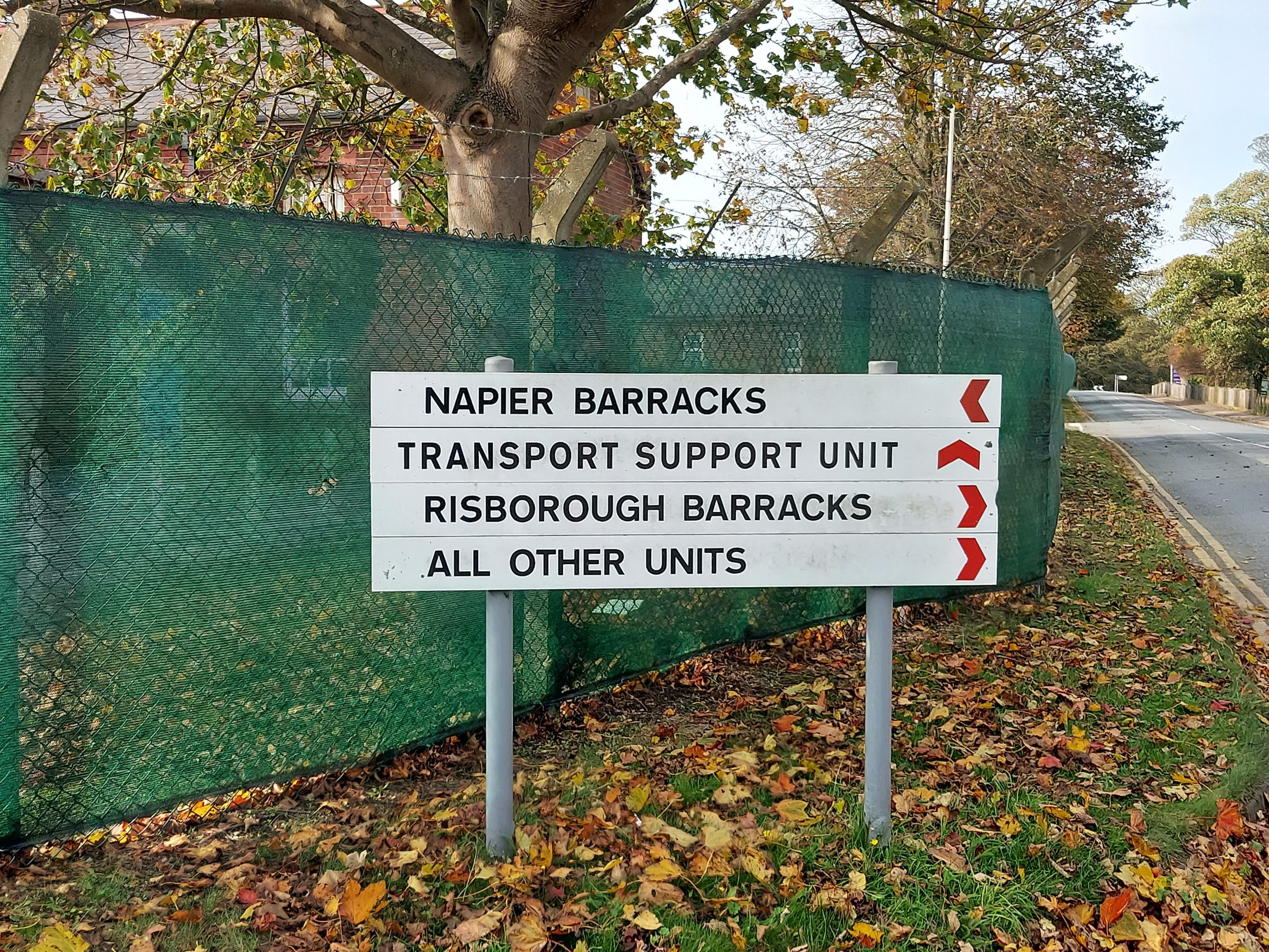 Home Office Refuse To Reveal Information On Napier Barracks